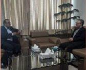 دیدار با دکتر غلامی راد ریاست سازمان مدیریت و برنامه ریزی استان مازندران