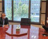 نشست مشترک دکتر محمد علی محسنی بندپی با دکتر آستانه مشاور وزیر نفت در امور روستایی