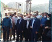 بازدیدهای میدانی دکترمحسنی بندپی از بخش مرکزی شهرستان چالوس