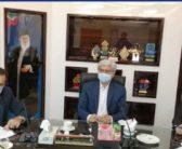 جلسه رفع موانع پروازی فرودگاه نوشهر و تصمیم گیری درخصوص اجرای حکم تخریب ساختمان های در مسیر پرواز با حضور دکترمحسنی بندپی نماینده مردم در مجلس شورای اسلامی