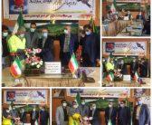 تجلیل از کارگران شهرداری کلاردشت
