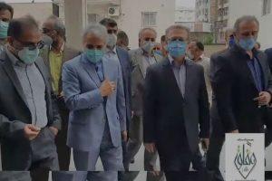 در پرتو نور وفاق و در سایه الطاف نظام مقدس جمهوری اسلامی ایران، پروژه ی دیگر وارد مدار خدمت به مردم شد
