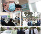 بازدید اعضای کمیسیون بهداشت و درمان مجلس شورای اسلامی از بیمارستان نیروی انتظامی کشور ناجا؛